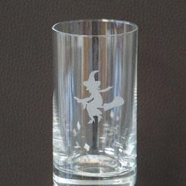 """Longdrinkglas 240ml mit Gravur """"Hexe / Teufel"""