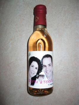 Flaschenetiketten für kleine Weinflaschen und Piccoloflaschen (ab 0,32 €/Stck.)
