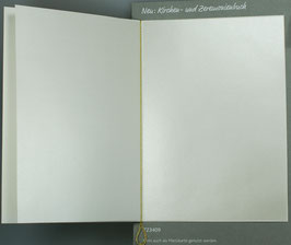 Falt-Einlegeblatt 530i (14,6x20,7 cm) perlmutt glänzend für A5-Kirchenheft und Menükarten