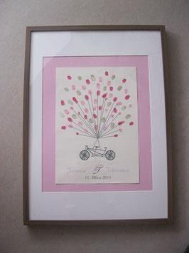 """Hochzeitsbaum /Wedding Tree """"Tandem + Schnüre"""""""