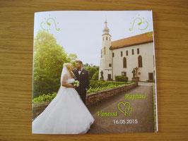 Postkarte, quadratisch, 2-seitig