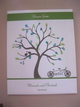 """Hochzeitsbaum /Wedding Tree """"Baum + Tandem"""""""