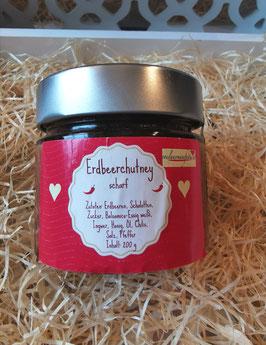 Erdbeer Chutney scharf