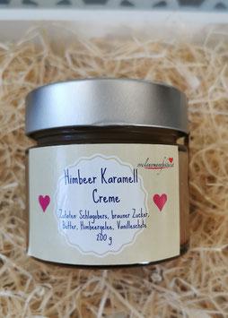 Himbeer Karamell Creme