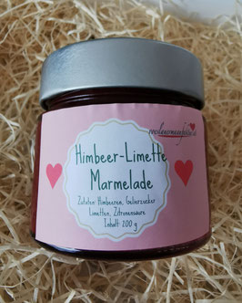 Himbeer Limette Marmelade