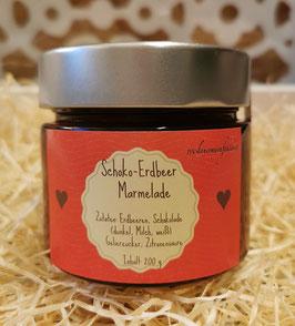 Schoko-Erdbeer Marmelade