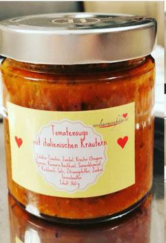 Tomatensugo mit italienischen Kräutern