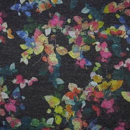 Jersey Lurex Blütenzauber