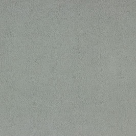 Baumwoll-Fleece grau, kuscheliger Teddyjersey 0,25m