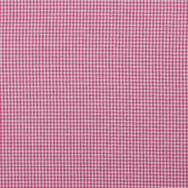 Baumwollstoff Vichy Karo pink/weiß 2mm