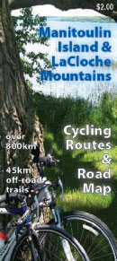 Manitoulin Cycling Routes Map