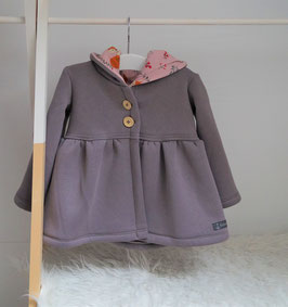 Sweat-Cardigan Gr. 86 (Unikat)