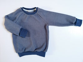 "Cozy Sweater * Grobstrick ""Taubenblau"""