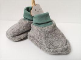 Booties  aus 100% Wolle in Wunschfarbe - Saison 2019/2020