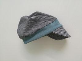 Schirmmütze in Wunschfarbe - Jersey / Sommersweat