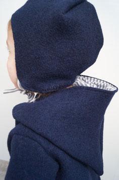 Mütze aus 100% Wolle in Wunschfarbe