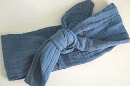 Stirnband aus Musselin 100% Baumwolle