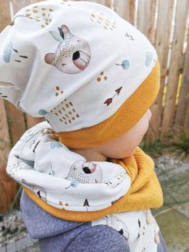 Beanie Mütze in Wunschfarbe