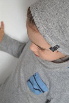 Sparset Beanie Mütze und Loop Schal - Wunschfarbe Baumwollstrick