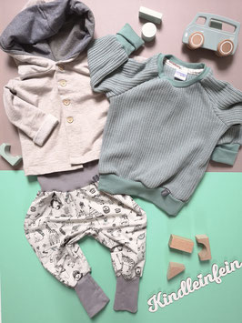 Teil vom Outfit beige - mint