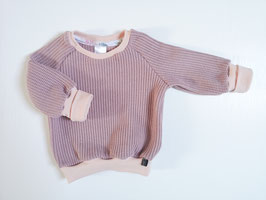 """Cozy Sweater * Grobstrick """"Puderrosa"""""""