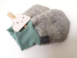 Handwärmer aus 100% Wolle (mit oder ohne Daumen) - Saison 2019/2020