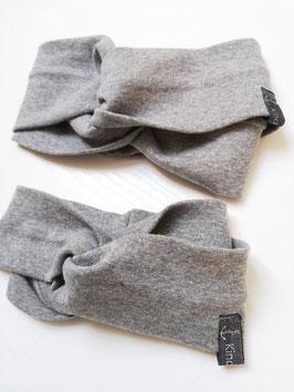 Partner Stirnbänder im Turbanlook - Farbe wählbar