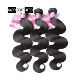 """Cheveux type malaisiennes ondulées 100% humain 22"""" de 100g"""