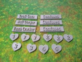 Ogre Tokens (pack of 16 tokens)
