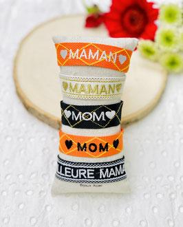 """Bracelet brésilien """"Maman"""""""