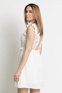 """Robe blanche dentelle """"Werlay"""""""