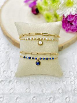 """Bracelets 2 rangs """"Sepho"""""""