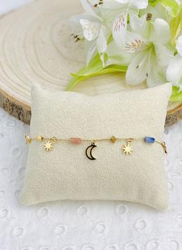 """Chaines de cheville """"Luna"""""""