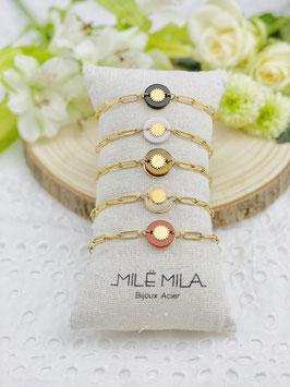 "Bracelets ""Helena"" pierres naturelles"