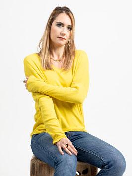 """Pull fin """"Warren"""" jaune, bordeaux, noir, blanc, rouge ou bleu marine"""