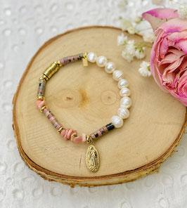 "Bracelets pierres ""Madona"""