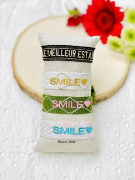 """Bracelet brésilien """"Smile"""" & """"Le meilleur"""
