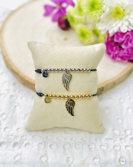 Bracelets élastiques réglables aile d'ange