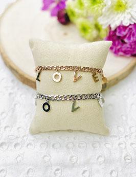 "Bracelets breloques ""LOVE"""