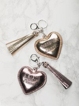 """Porte-clés """"Bichette d'amour"""""""