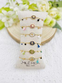 """Bracelets """"Willow"""" pierres naturelles"""