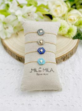 """Bracelets """"Annie"""" pierres naturelles"""