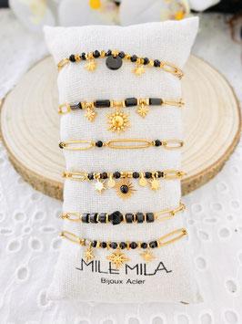 """Bracelets """"Kiarane"""" onyx"""