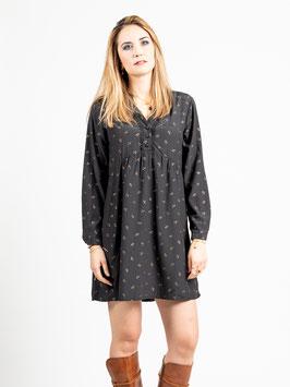 """Robe noire et or """"Viconte"""""""