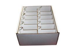 Boite rangement annuel graines casiers gravés