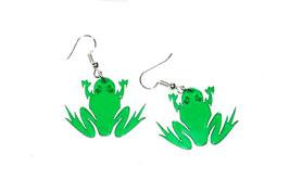 Boucles d'oreilles modèle grenouille