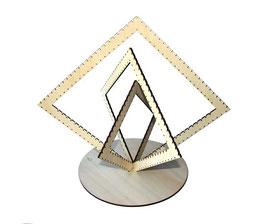 Arbre à bijoux modèle losange