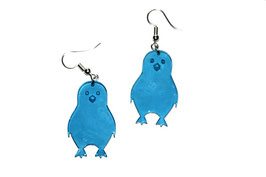 Boucles d'oreilles modèle pingouin