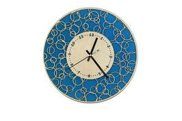 Horloge murale effet dentelle