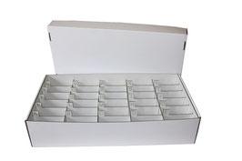 Boite rangement graines par ordre alphabétique casiers gravés